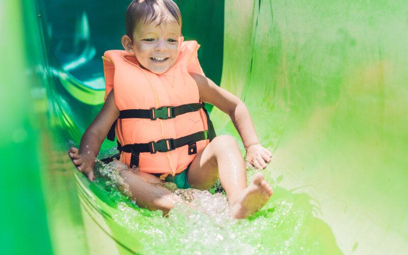 Çocuklar Grubu Aquapark Kaydırakları